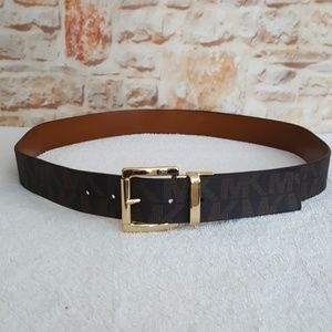 New Michael Kors Faux Reversible Belt